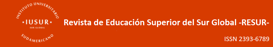 RESUR - Revista de Educación Superior del Sur Global